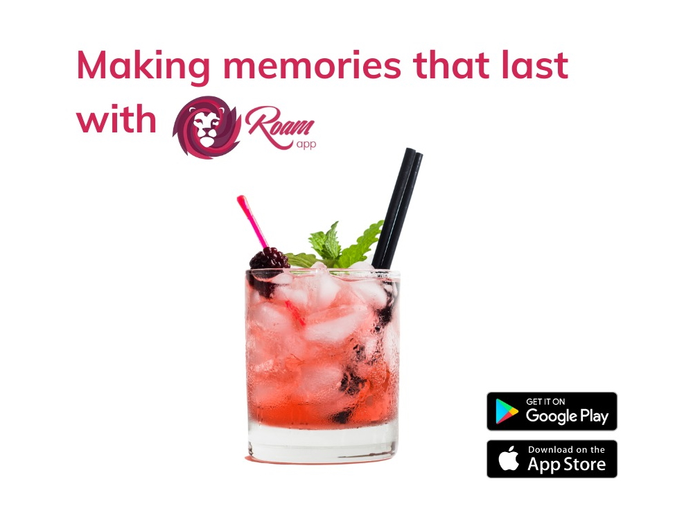Create your own memories with the Roam app
